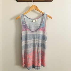 Saint Tropez Watercolor Tank